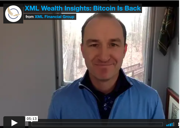 XML Wealth Insights: Bitcoin is Back