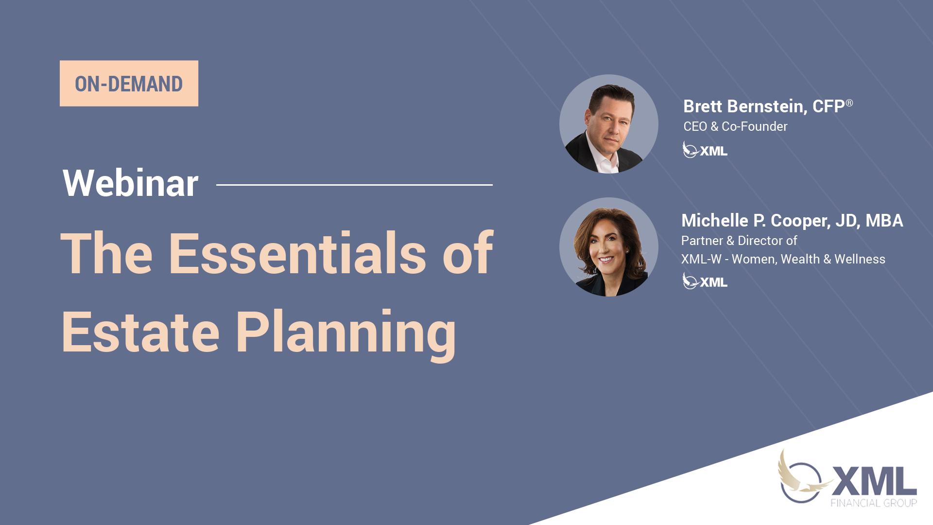 XML Essentials of Estate Planning Webinar Recording